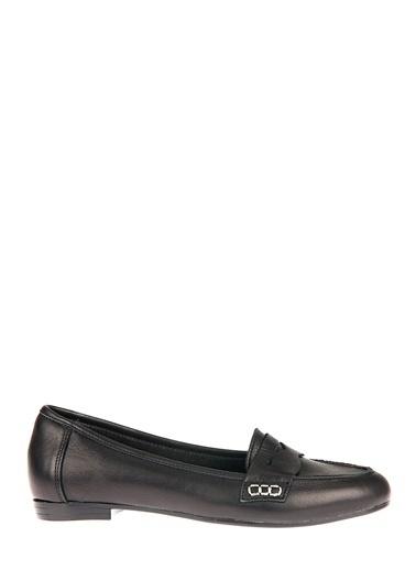Uniquer Hakiki Deri Günlük Ayakkabı Siyah